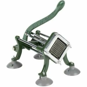 French Fry Cutter 1/4 with Suction Feet Heavy Duty Quick and Easy Potato Slicer