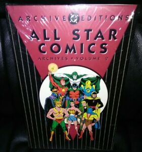 All Star Comics Archives Volume 2 DC Deluxe Hardcover Factory Sealed