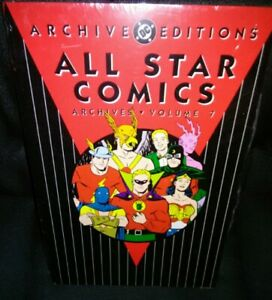 All Star Comics Archives Volume Seven Factory Sealed