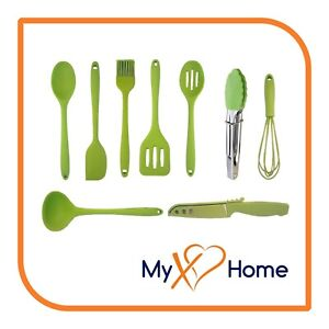 My XO Home Silicone Kitchen Cooking Tools (Green)