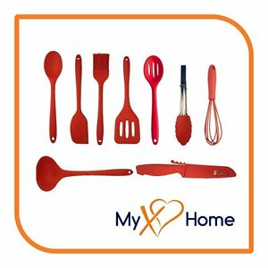 My XO Home Silicone Kitchen Cooking Tools (Red)