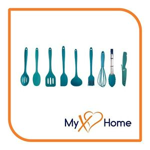 My XO Home Silicone Kitchen Cooking Tools Light Blue