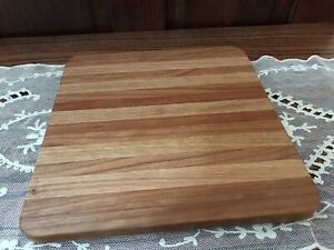 RJB Handcrafted Cutting board chopping board hand made food safe Oak Maple
