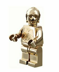 Lego Star Wars 30th anniversary Limited to 10000   Gold plate  C-3PO Minifig