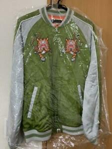 A BATHING APE Sukajan  japanese souvenir jacket L size free shipping from Japan!