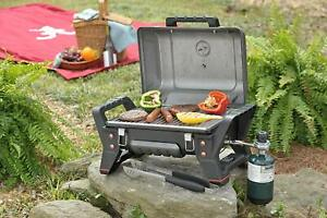 Portable Liquid Propane Gas Grill - Travel Camping Hunting Tailgating Trips