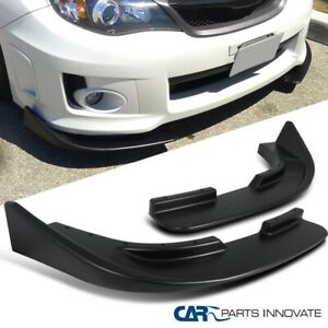 Front Body Upgrade Bumper Lip Spoiler Canard Splitters Flippers LR