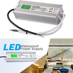 150W Waterproof LED Driver Transformer 12V Power Supply for Outdoor Use,Computer