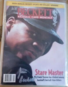 Beckett Baseball Card Monthly Mag. Autographed by Dr. Beckett w letter of proof $99.00
