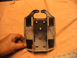 US Military Used Safariland Holster Back Plate forThigh Rig No Holster or Strap
