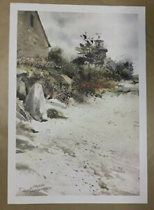 Donald Voorhees Lighthouse Signed amp; Numbered Limited Edition Print Never Framed $40.00