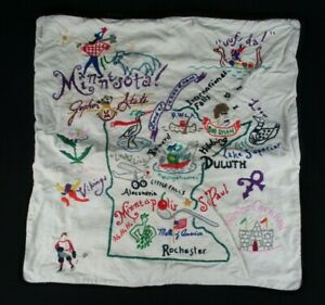 CatStudio Minnesota 18quot;x18quot; Embroidered Pillow Case Pillow Cover