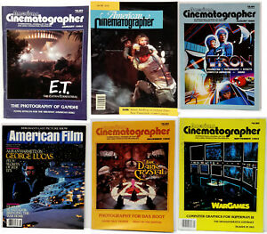 Vintage American Cinematographer Magazine Collection Your Choice of 100 Issues $9.95