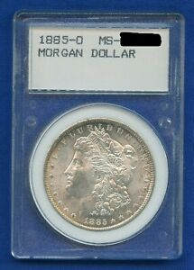 1885 O Morgan Dollar $1 Silver US Mint Rare Vintage Holder $84.95