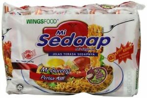 Mi Sedaap Goreng Original Flavour Fried Instant Noodles Crunchy 5 packs