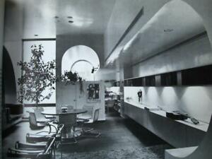 Mid century modern Interior Spaces Designed by Architects architecture plans VG $30.00