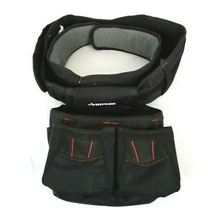 Husky 3 Pocket Tool Bag Measuring Tape Pouch with adjustable Belt NEW