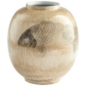 Cyan Design Large Swim a Circle Vase Multi-colored Neutrals - 8725