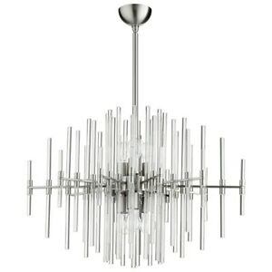 Cyan Design 6 Light Quebec Pendant Satin Nickel - 9231