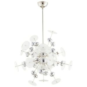 Cyan Design Avi 10 Light Pendant Polished Nickel - 9681