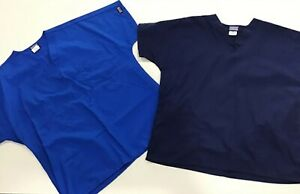 Cherokee Work wear Scrubs LOT OF 2 New Without Tags Blue Tones Unisex Size M