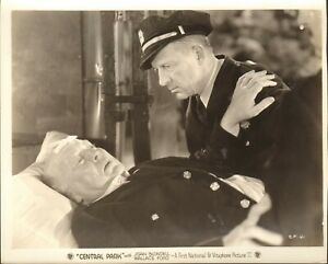 "8""x10"" original still, Central Park 1932 #SP 41, Guy Kibble"