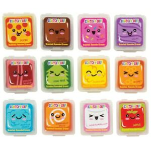 Set of 12 Food Scented Kneadable Erasers Party Favors Fidgets Wacky Food Whiffs