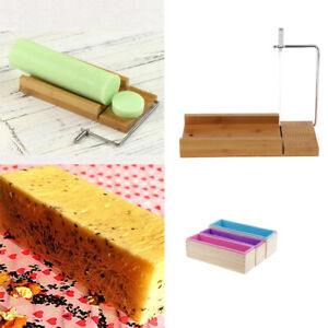 1 Pack Soap Loaf Bread Making Tools 3pcs Rectangle Mold Wire Slicer Cutter $52.52