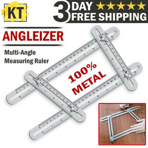 Template Tool Multi Angle Measuring Ruler Stainless Steel Angularizer Craft work $9.99