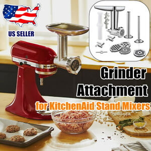 Metal Food Meat Grinder Attachment for KitchenAid Stand Mixers Accessories US
