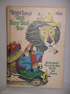 Richard Scarry's BEST STORY BOOK EVER 82 Wonderful Stories & Poems HC