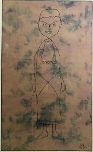 large Paul Klee Lithograph Signed 1960s. $175.00