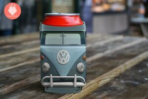 VW Bus Volkswagen Vintage Beetle Bug Beer Drink KOOZIE® Gift Beverage Cooler