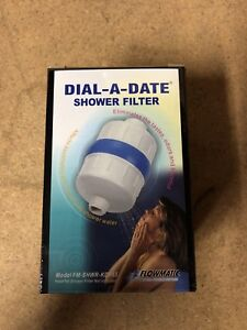 DIAL A DATE SHOWER FILTER KDF 55 NEW IN BOX
