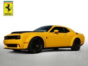 2018 Dodge Challenger SRT 2018 Dodge Challenger SRT 1362 Miles Yellow Jacket Clearcoat 2D Coupe HEMI 8-Spe