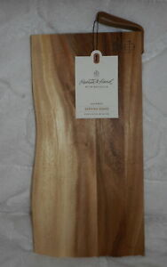 HEARTH & AND HAND WITH MAGNOLIA ACACIA WOOD SERVING TRAY CUTTING BOARD NEW