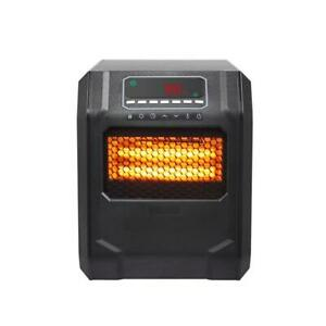 US Space Heater Infrared Heater Thermostat 3 Heat Settings W 2 AAA Battery $68.99