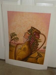 Lucien Krief French Israel Judaica Art Ltd Ed Fruits of the Holyland Lithograph