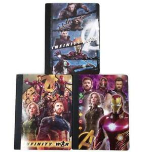 Marvel Infinity War Avengers Guardians Galaxy Composition Notebooks Lot of 3 NEW