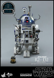 Star Wars 7 Inch Action Figure MMS 16 Scale - R2-D2 Deluxe Version Hot Toys