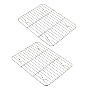 2x Lot Aspire Cooling Rack Pack Stainless Steel Cooking Baking Roasting Grilling $13.83