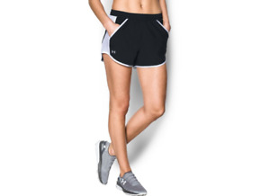 Under Armour 1297125 Women's UA Fly By Short Athletic Running Shorts, Black $21.19