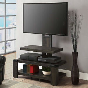 Modern TV Stand Mount Entertainment 3-Tier Shelf Furniture Unit TVs Up To 55 New