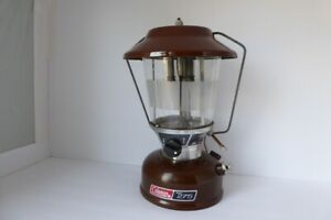 Coleman Camping Lantern Model 275 Double Mantle Brown 2 82