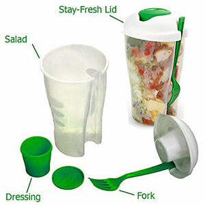 Mystery Deal: Portable Healthy Food Salad Storage On-the-Go Container BPA Free