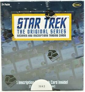 STAR TREK THE ORIGINAL SERIES ARCHIVES AND INSCRIPTIONS BOX RITTENHOUSE 2020