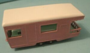 Matchbox Lesney #23 Pink Trailer Caravan camping Camper made in England