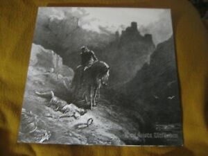 MORKER DRAUGSANG split ORIG VINYL LP bloody scream