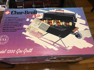 Char-Broil Grill To Go  Model 1200 Portable Gas Brand New Sealed in Box