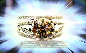GIA CERTIFIED H COLOR GRADE VS2 CLARITY GRADE ROUND BRILLIANT DANIEL K DESIGNER
